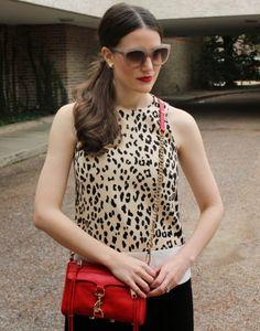 leopard dress & a mimi mac