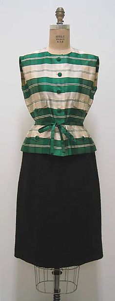 Suit, House of Chanel, 1963-67, French, wool and silk