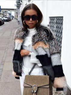 e1dcc354afc9 Аксессуары из меха · 100 лучших моделей  модные шубы 2017 года на фото  Зимняя Мода, Модные Наряды,