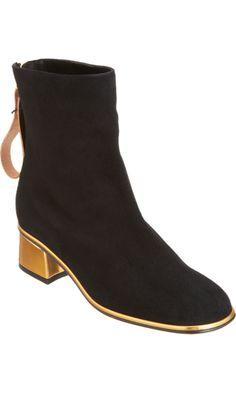 Marni - Square Toe Ankle Boot