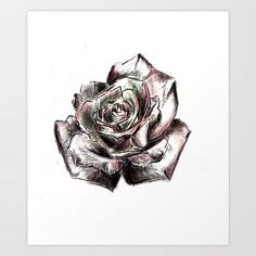 So I'm starting to promote my art :) Phone cases, laptop sleeves, you name it! #art #arte #sketch #charcoal #rose #illustration