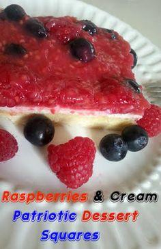 Flour Me With Love: Raspberries & Cream Dessert from The Better Baker