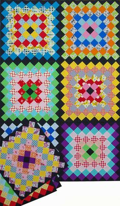 Red Pepper Quilts: The Week in Stitches - Philadelphia Pavement blocks