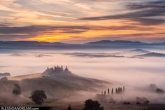 In the misty Tuscany by Alessio Andreani on 500px