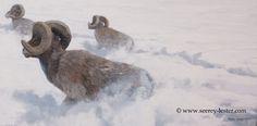 """Snow Escape"" | Not Just Wildlife Art of John & Suzie Seerey-Lester"