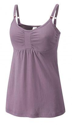 Mauve Breastfeeding Camisole