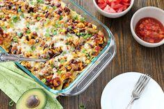 Cheesy Taco Casserole Recipe