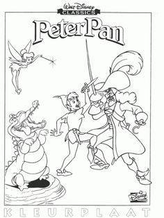 Free Printable Coloring Sheet Of Disney Peter Pan Pages Pirate