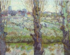 Vincent van Gogh - View of Arles, 1889