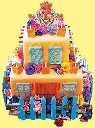 house made of cake....