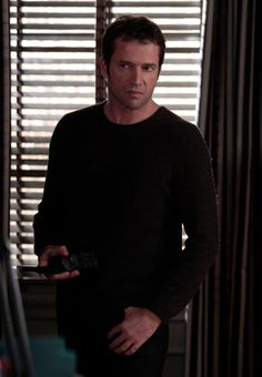 James Purefoy in the Following. OK he isn't a real author but he is to good looking to not put him on the list. Wish he wasn't a serial killer.