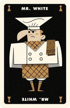 Clue Card White, Andrew Kolb