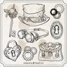 Image result for steampunk elements