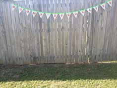 Handmade buntings made to order. Choose your own colours/styles.  $30 for one this size.