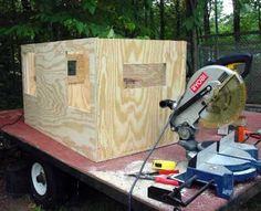 75 Dog Box For Small Truck Made From Cedar Fence Pickets
