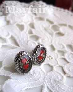 TwoOfHearts Resin Earrings by MayfaireArt on Etsy, $9.99