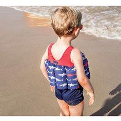 Maillot de bain bouée Sharky requin (5 ans) : Archimède