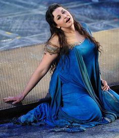 Micaela Carosi as Aida, Royal Opera House