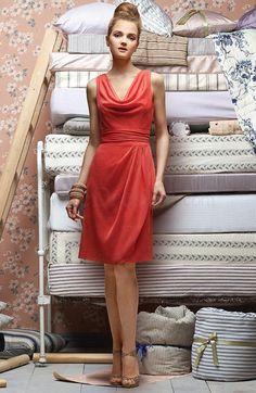 easy dress fo bridesmaid