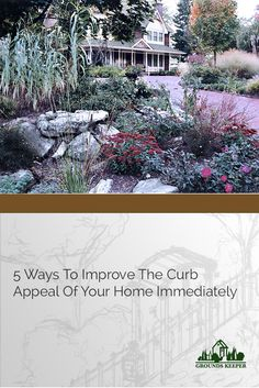What can you do to turn your beloved space into (or back into!) that comforting, pleasant place that you enjoy experiencing and being part of? Try these ideas for more curb appeal.