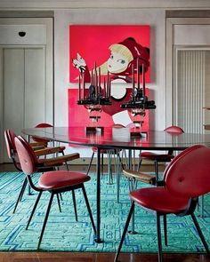 Apartamento de Nina Yashar, em Milão, Itália. Projeto de Giancarlo Montebello. #arquitetura #arte #art #artlover #design #architecturelover #instagood #instacool #instadesign #instadaily #projetocompartilhar #shareproject #davidguerra #arquiteturadavidguerra #arquiteturaedesign #instabestu #decor #architect #criative #cores #harmonia #colours #harmony #ninayashar #giancarlomontebello #milao #italia #italy