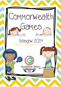 #seasonevent Commonwealth Games 2014 Activity Pack