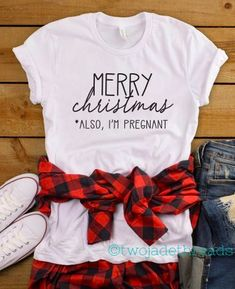 Christmas pregnancy announcement t-shirt, Christmas maternity shirt, Merry Christmas I am also pregnant Pregnancy Announcement Shirt, Christmas Baby Announcement, Christmas Baby Reveal, Im Pregnant Announcement, Cute Baby Announcements, Christmas Shirts, Christmas Pregnancy Shirts, Merry Christmas, Announcing Pregnancy At Christmas