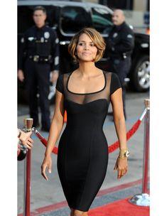 Vestido Bandage Celebrities Halle Berry VB016 - Vestidos Famosas - Vestidos