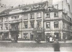 Ulica Długa.Zdjęcie sprzed roku 1939.