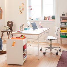 Egon Eiermann Angebot: Tisch, Stuhl und Container weiss