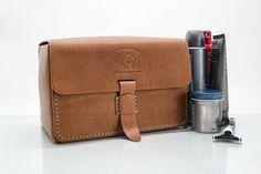 Leather Toiletry Bag Men's Toiletry Bag Men's