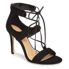 Women's Daya By Zendaya Starke Sandal ($100) ❤ liked on Polyvore featuring shoes, sandals, black, black strappy sandals, black shoes, kohl shoes, strappy sandals and strap sandals