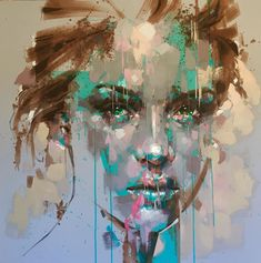 Jimmy Law & uniqe expressive portraits #artpeople