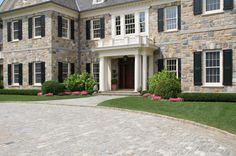 Driveway Circle, Entrance Design Landscape Design, Residential Design, Commercial Desgin http://wesleystout.com/