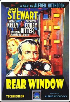 Alfred Hitchcock ~ Rear Window