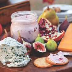 Cranberry and Goat Cheese Spread