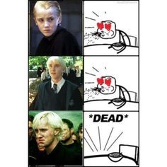 Image result for funny draco malfoy memes