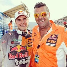 Ryan Dungey and Dad.