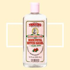Thayer's Rose Petal Witch Hazel $8 - astringent for reducing stress-induced inflammation and puffiness.