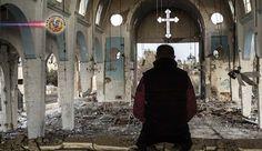 Terroristas atacam bairro cristão de Damasco na manhã de Natal. O bairro cristão de al-Qassaa, na capital síria de Damasco, foi atacado com morteiros...