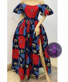 2019 Latest and Cute Ankara Gown Styles - Naija's Daily Diyanu Fashion Ankara Short Gown Styles, Trendy Ankara Styles, Ankara Gowns, African Fashion Ankara, Latest African Fashion Dresses, African Print Fashion, African Attire, African Wear, African Dress
