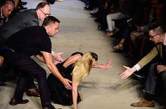 Candice Swanepoel Fell At The Givenchy Show And Recovered Like A Boss