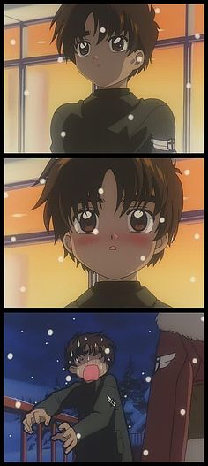 Syaoran is so cute!! >//