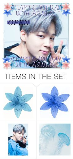 """OPEN JIMIN ICON"" by musiclove13 ❤ liked on Polyvore featuring art"