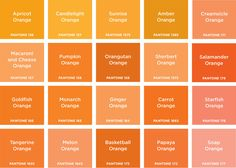 Orange Shades Wedding Day In 2019 Colors Color