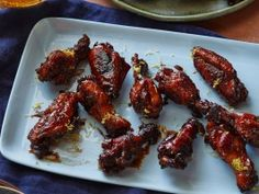 Balsamic Chicken Wings from CookingChannelTV.com