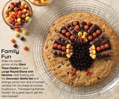 """Make a skillet cookie in our 12"""" skillet and let the fun begin!  Check out our shimmering platter and skillet gone bakeware at www.pamperedchef.biz/sweetdeals  Order $150 or more (holiday shopping) and get your cookware for 60% off!"""