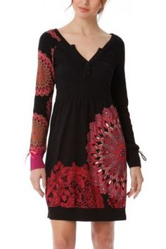 WOMAN KNITTED DRESS LONG SLEEVE Desigual