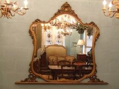 Not the right color, but this is the mirror I want