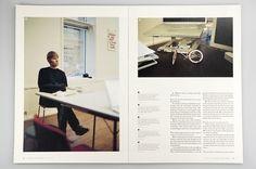 –Everyday Magazine : Mikael Fløysand #grid #layout #publication #spread #magazine